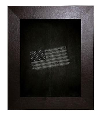 Brayden Studio Leather Chalkboard; 24'' x 36''