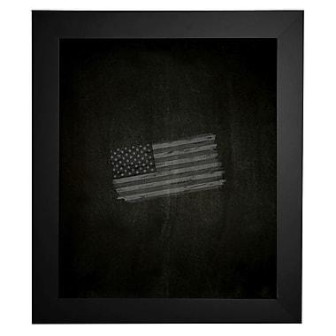 Brayden Studio Satin Chalkboard; 36'' x 90''