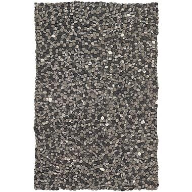 Brayden Studio Pipkin Balls Grey Area Rug; 9' x 13'