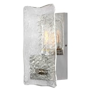 Brayden Studio Ogburn 1-Light Textured Glass Wall Sconce