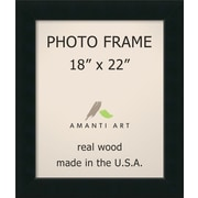 Brayden Studio Graddy Black Picture Frame; 18'' x 22''