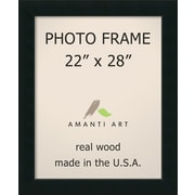 Brayden Studio Graddy Black Picture Frame; 22'' x 28''