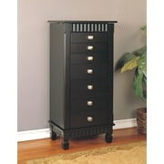 Brayden Studio Dillon Jewelry Armoire w/ Mirror