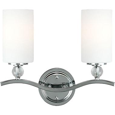 Brayden Studio Dugas 2-Light Vanity Light; 100W A19 Medium