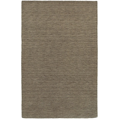 Brayden Studio Barrientos Hand-Woven Heathered Green Area Rug; 8' x 10'