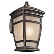 Loon Peak Cocao 1-Light Outdoor Wall Lantern