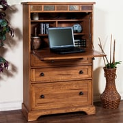 Loon Peak Fresno Armoire Desk