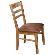 Loon Peak Fresno Ladder back Upholstered Side Chair