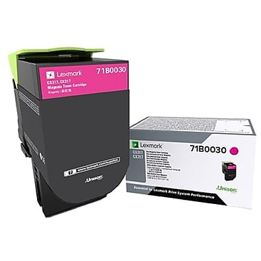 Lexmark CS/X317/417/517 Magenta Toner Cartridge (71B0030)