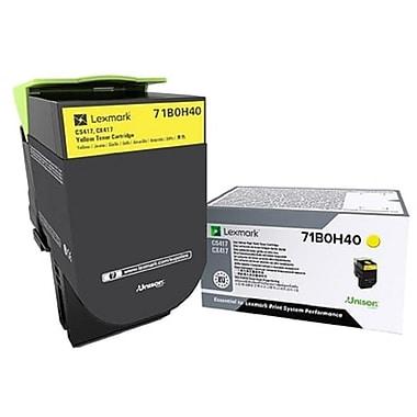Lexmark CS/X417/517 Yellow High Yield Toner Cartridge (71B0H40)