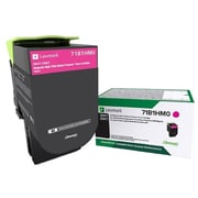 Lexmark CS/X417/517 Magenta High Yield Return Program Toner Cartridge (71B1HM0)