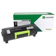 Lexmark MS/MX317/417/517/617 Return Program Toner Cartridge, Black, Standard Yield (51B1000)