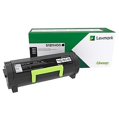 Lexmark - Cartouche de toner MS/MX417/517/617 haut rendement, programme de retour (51B1H00)