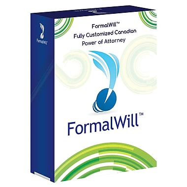 FormalWill™ Fully Customized Canadian Power of Attorney