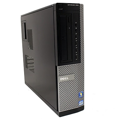 Dell Refurbished OptiPlex 990 Desktop Computer, 3.1 GHz Intel Core i5-2400, 2 TB HDD, 8 GB DDR3, Windows 10 Pro