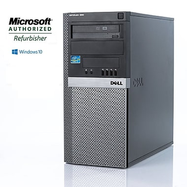 Dell (Optiplex 980) Refurbished Desktop, Intel Core i5 650 (3.2GHz), 8GB RAM, 1TB HDD, Windows 10 Pro