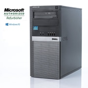 Dell - PC de table Optiplex 980 remis à neuf, Intel Core i5 650  3,2 GHz, RAM 8 Go, DD 1 To, Windows 10 Pro