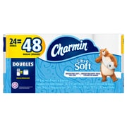 Charmin® Ultra Soft Bathroom Tissue, Double Roll
