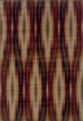 Loon Peak Horasan Gray/Red Area Rug; 9'10'' x 12'9''