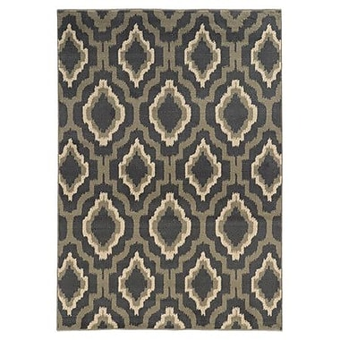 Loon Peak Willingford Gray/Beige Area Rug; Runner 1'10'' x 7'3''