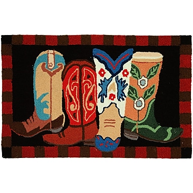 Loon Peak Marshall Boot Scootin' Area Rug; 1'10'' x 2'10''