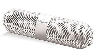 Billboard Pill Bluetooth White Speaker