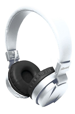 Billboard Large Bluetooth On Ear Headphone White