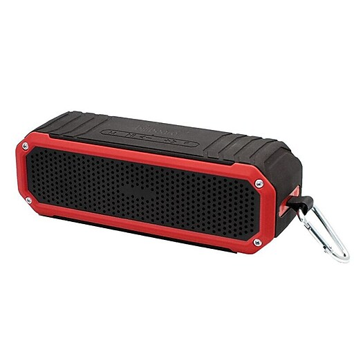 Billboard Rectangle Bluetooth Speaker Red
