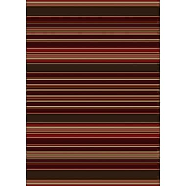 Loon Peak Chateaux Medley Red Area Rug; 8' x 10'