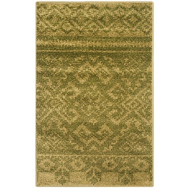 Loon Peak St. Ann Highlands Green Area Rug; 4' x 6'