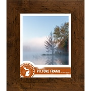 Loon Peak 2'' Distressed Wood Picture Frame; 22'' x 28''