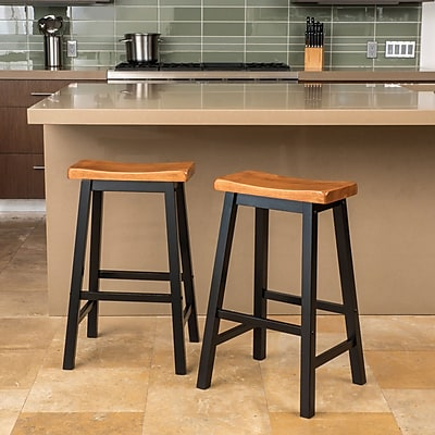 Loon Peak Tehama 29'' Bar Stool (Set of 2)