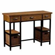 Loon Peak Tenleytown 3 Drawer Computer Desk