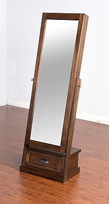 Loon Peak Birney Jewelry Armoire w/ Mirror