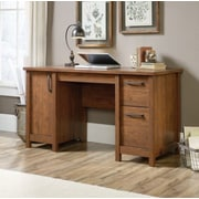 Loon Peak Sunlight Spire Computer Desk; Milled Cherry