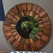 Loon Peak Wood Mirror