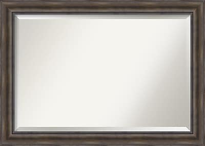 Loon Peak Rectangle Wood Wall Mirror; 29.5'' H x 41.5'' W x 0.75'' D