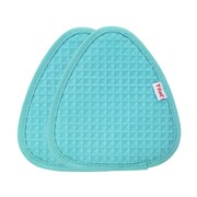 T-fal Waffle Silicone Potholder (Set of 2); Breeze