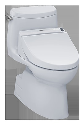 Toto Carlyle II 1.0 GPF Elongated One-Piece Toilet