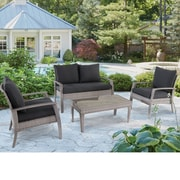 Highland Dunes Rossana 11 Piece Deep Seating Group w/ Cushions