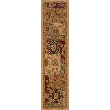Red Barrel Studio Tindell Beige Area Rug; Runner 1'10'' x 7'6''