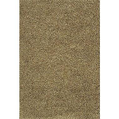 Red Barrel Studio Mazon Tweed Brown/Ivory Area Rug; 5'3'' x 7'9''