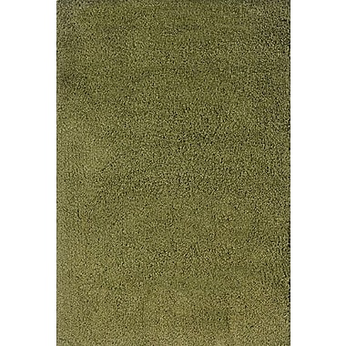 Red Barrel Studio Mazon Solid Green Area Rug; 9'10'' x 12'7''