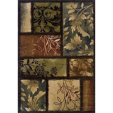 Red Barrel Studio Matteson Brown Area Rug; 10' x 13'