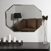 Red Barrel Studio Cannonball Creek Frameless Beveled Wall Mirror