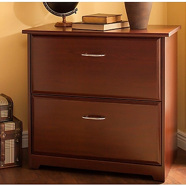 Red Barrel Studio Hillsdale 2 Drawer Lateral File; Harvest Cherry