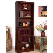 Red Barrel Studio Port City 84'' Standard Bookcase; Cherry