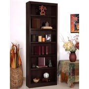 Red Barrel Studio Port City 84'' Standard Bookcase; Espresso