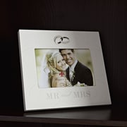 Red Barrel Studio Mr. And Mrs. Wedding Picture Frame