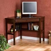 Red Barrel Studio Karbach Corner Writing Desk w/ Keyboard Tray